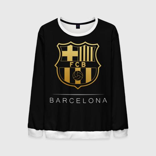 Мужской свитшот 3D Barcelona Gold Edition