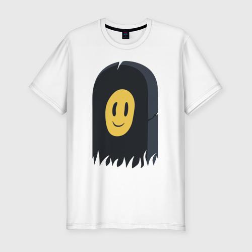 Мужская футболка хлопок Slim Пошлая Молли