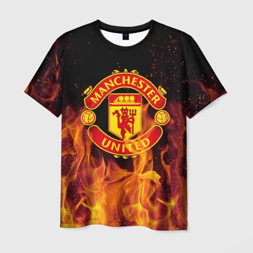 Мужская футболка 3D FC Manchester United