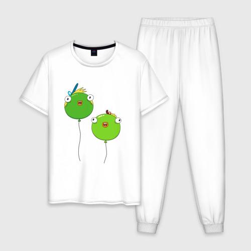 Мужская пижама хлопок Хлебоуточки