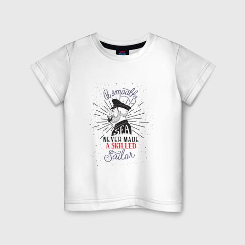 Детская футболка хлопок Капитан