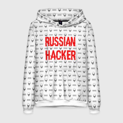 Мужская толстовка 3D Russian Hacker