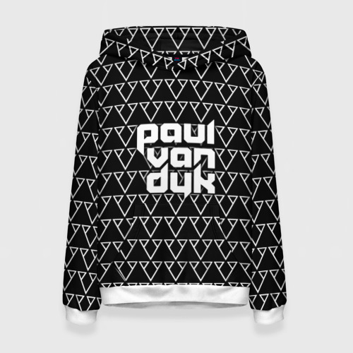 Женская толстовка 3D Paul Van Dyk