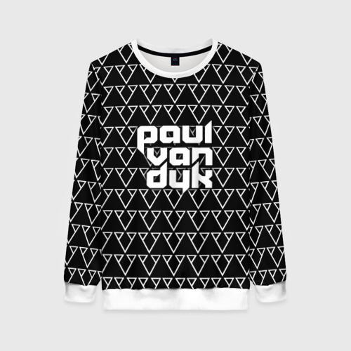 Женский свитшот 3D Paul Van Dyk