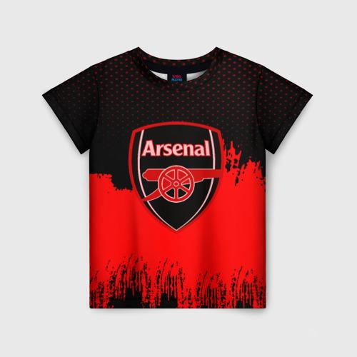 Детская футболка 3D FC Arsenal Original uniform
