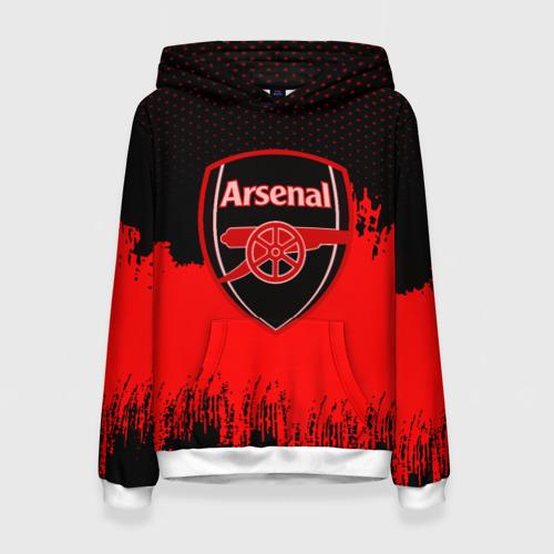 Женская толстовка 3D FC Arsenal Original uniform