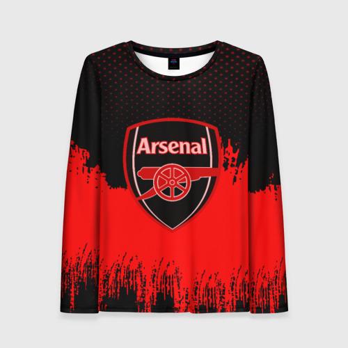 Женский лонгслив 3D FC Arsenal Original uniform