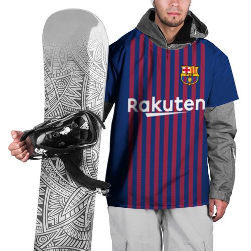 Накидка на куртку 3D Messi home 18-19