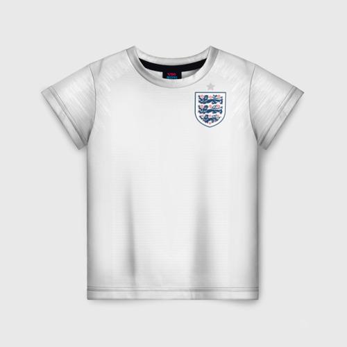Детская футболка 3D England home WC 2018