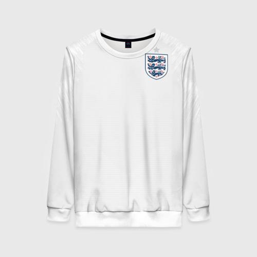 Женский свитшот 3D England home WC 2018