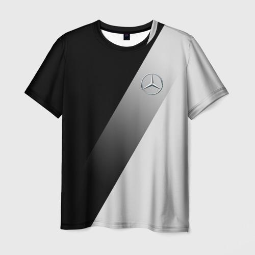Мужская футболка 3D MERCEDES-BENZ AMG | МЕРСЕДЕС ЭЛИТА