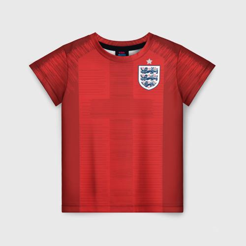 Детская футболка 3D England away WC 2018