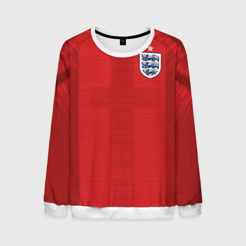 Мужской свитшот 3D England away WC 2018