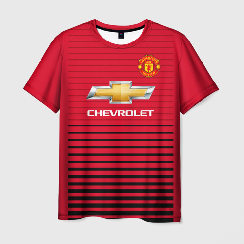 Мужская футболка 3D Man United Форма Home 18/19