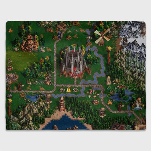 Плед 3D Карта