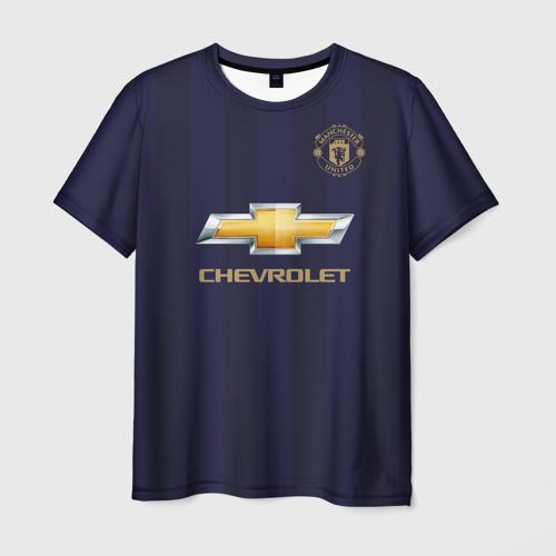 Мужская футболка 3D Man United Форма Away 18/19