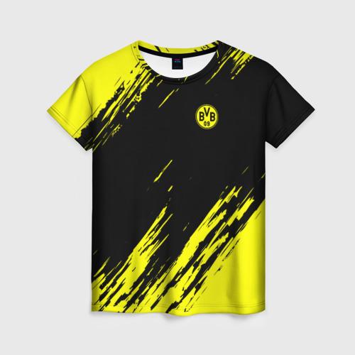Женская футболка 3D FC Borussia 2018 Original