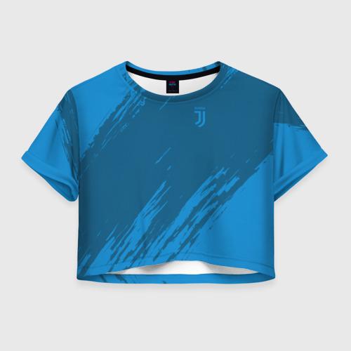 Женская футболка Crop-top 3D Juventus 2018 Original