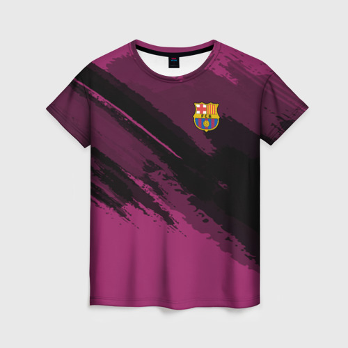 Женская футболка 3D Barcelona sport