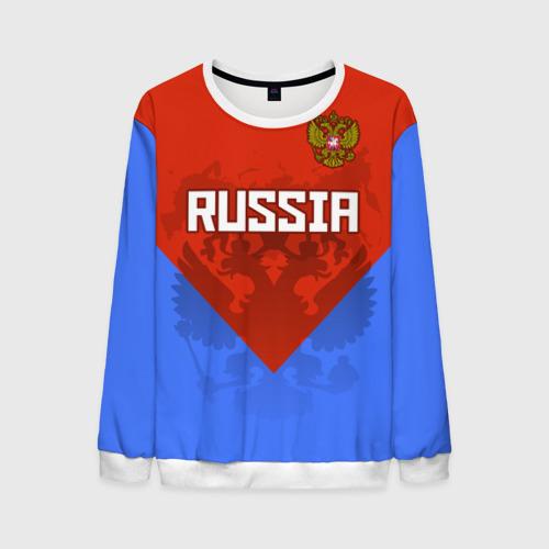 Мужской свитшот 3D Russia