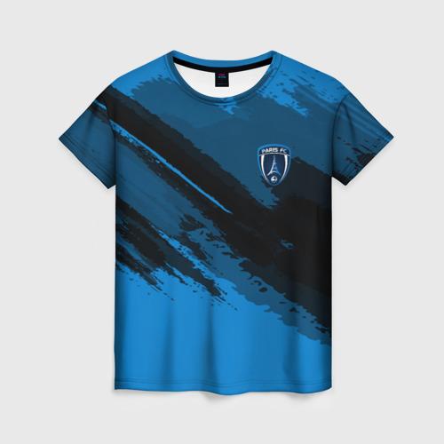 Женская футболка 3D FC Paris Sport
