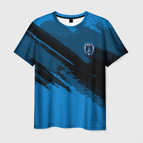 Мужская футболка 3D FC Paris Sport
