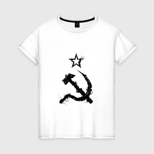 Женская футболка хлопок СССР