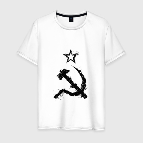 Мужская футболка хлопок СССР