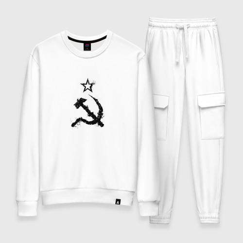 Женский костюм хлопок СССР