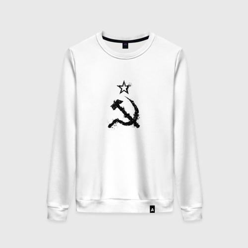 Женский свитшот хлопок СССР