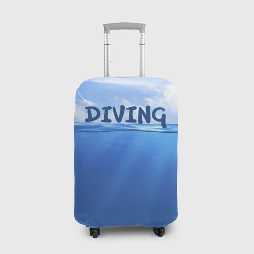 Чехол для чемодана 3D Дайвинг