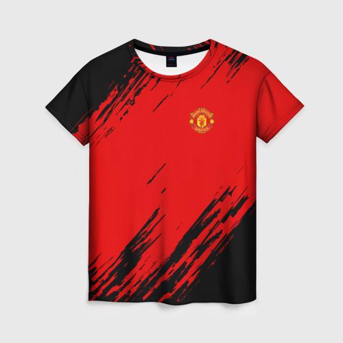 Женская футболка 3D F.C.M.U 2018 Original
