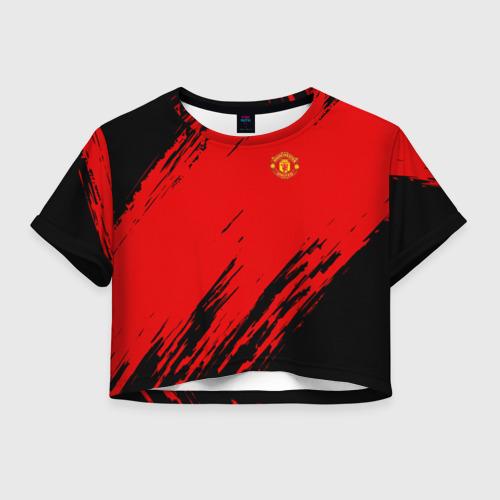 Женская футболка Crop-top 3D F.C.M.U 2018 Original