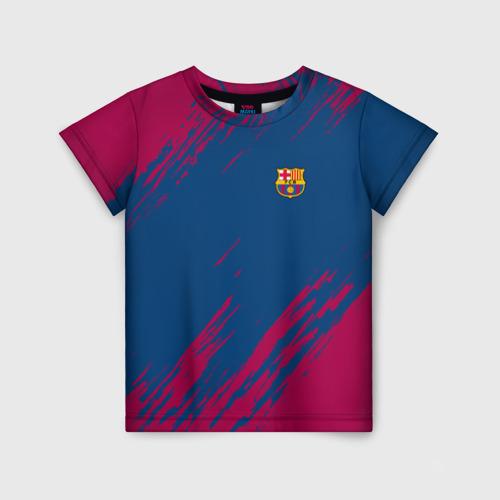 Детская футболка 3D FC Barca 2018 Original
