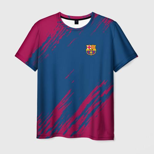 Мужская футболка 3D FC BARCELONA (BARCA) | ФК БАРСЕЛОНА