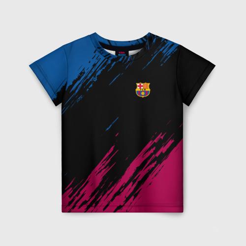 Детская футболка 3D FC BARCELONA (BARCA)   ФК БАРСЕЛОНА