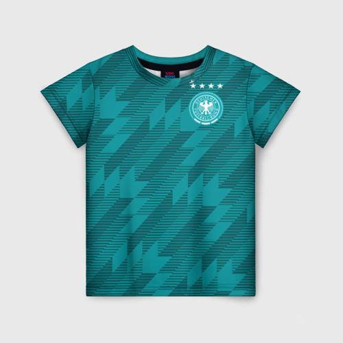 Детская футболка 3D Germany away WC 2018