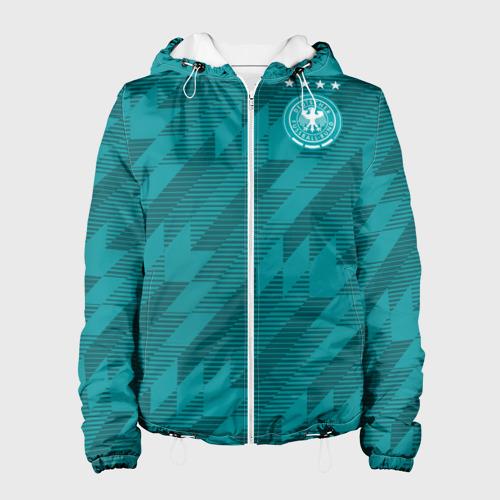 Женская куртка 3D Germany away WC 2018