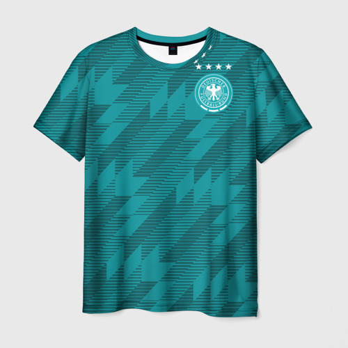 Мужская футболка 3D Germany away WC 2018