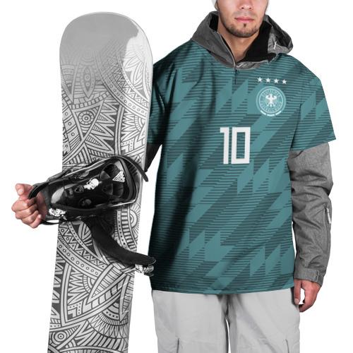 Накидка на куртку 3D Ozil away WC 2018