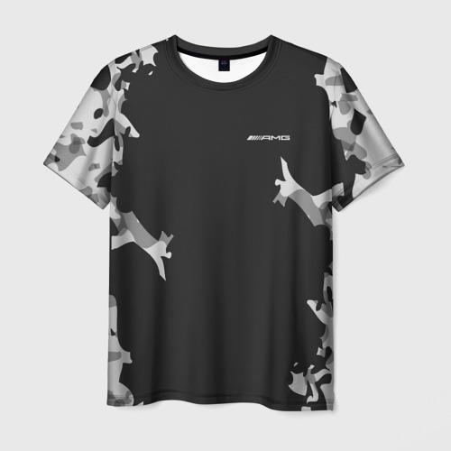 Мужская футболка 3D AMG SPORT