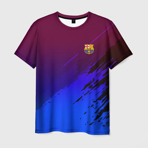 Мужская футболка 3D FC Barcelona SPORT