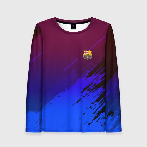 Женский лонгслив 3D FC Barcelona SPORT