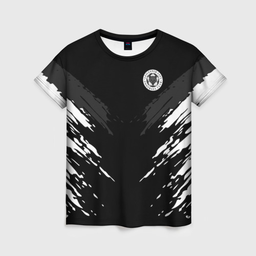 Женская футболка 3D LEICESTER CITY 2018 SPORT
