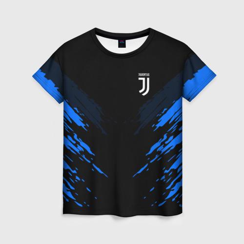 Женская футболка 3D JUVENTUS 2018 SPORT