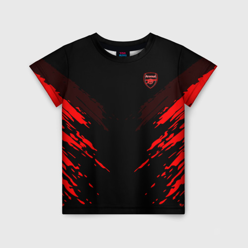 Детская футболка 3D ARSENAL 2018 SPORT