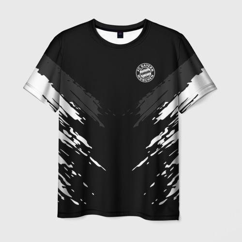 Мужская футболка 3D BAYERN MUNCHEN 2018 SPORT