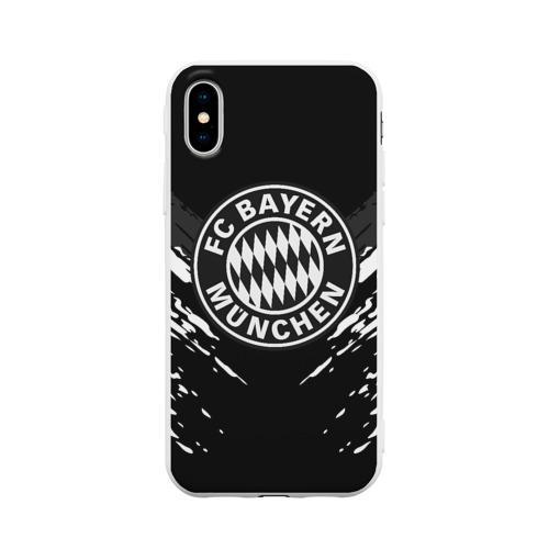 Чехол для iPhone X матовый BAYERN MUNCHEN SPORT