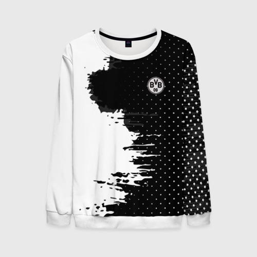 Мужской свитшот 3D Borussia uniform black 2018