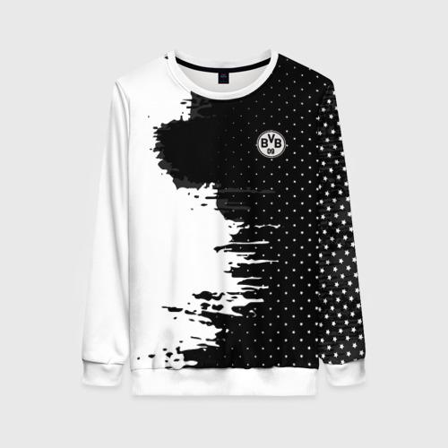 Женский свитшот 3D Borussia uniform black 2018